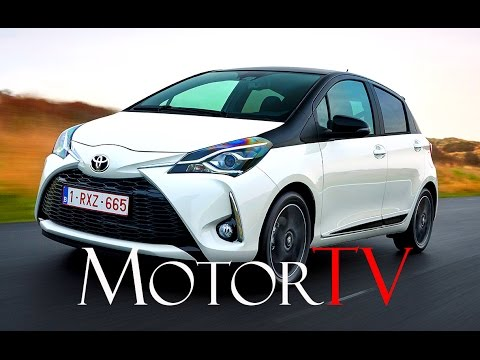 new 2017 toyota yaris yaris hybrid l driving scenes. Black Bedroom Furniture Sets. Home Design Ideas
