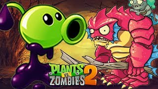 Bỏ 100 Gem Mua Goo Peashoter Rất Mạnh | Plants Vs Zombies 2 | Hoa Quả Nổi Giận 2