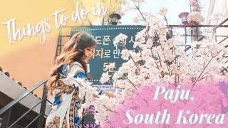Trip to Paju, South Korea: Provence Village   Travel Vlog