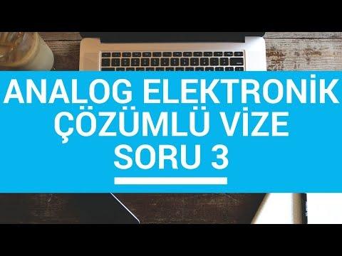 Og Elektronik Ders Og Elektronik Cozumlu Vize Sinav Sorusu