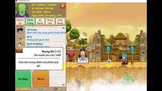 Ngọc Rồng Online  cách kiếm vàng cực nhanh trong game