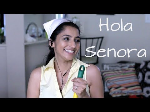 Indian Aunty and Mexican Cleaner | Sailaja Talkies