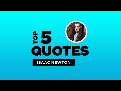 Top 5 Isaac Newton Quotes - English Mathematician. #IsaacNewton #IsaacNewtonQuotes #Quotes