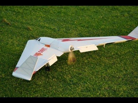 MISSHAP - LIGHTNING DART - EP - DELTA WING / FLYING WING  ARF - AT HDMFC