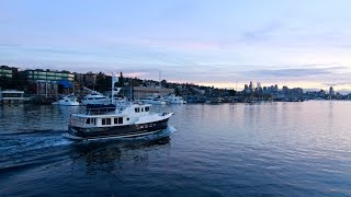 Selene 47 ocean trawler yacht for sale in Seattle.  Motivated seller