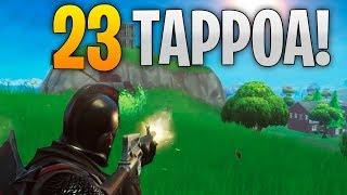23 TAPON VOITTO! - FORTNITE SUOMI