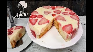 Pişmeyen Pasta Tarifi I Iftara uygun hafif irmikli pasta