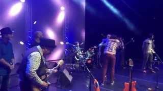Mgzavrebi на концерте Чайф в Челябинске 06 04 2015 Театр Оперы и Балета
