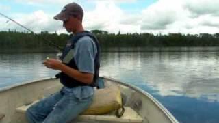 Walleye Fishing Pasha Lake Cabins-Fishing and Fun With Jonny Fickert