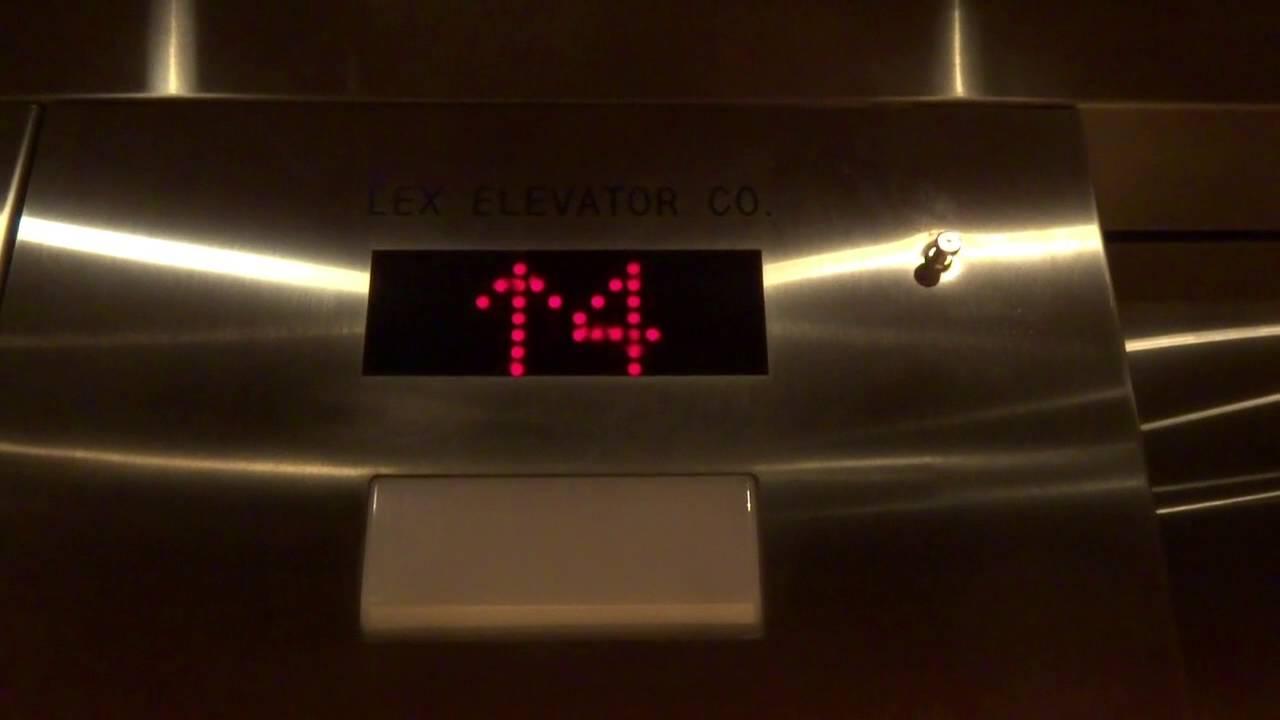 Lex Hydraulic Elevators @ Hilton Garden Inn in Rockford IL - YouTube