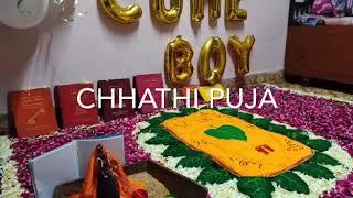 Chhathi Puja | 6th Day New baby Born Ceremony | Devganiya Family |