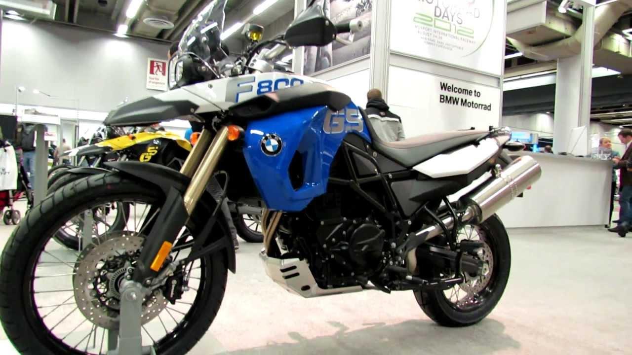 2012 bmw f800gs at 2012 montreal motorcycle show salon - Salon de moto montreal ...