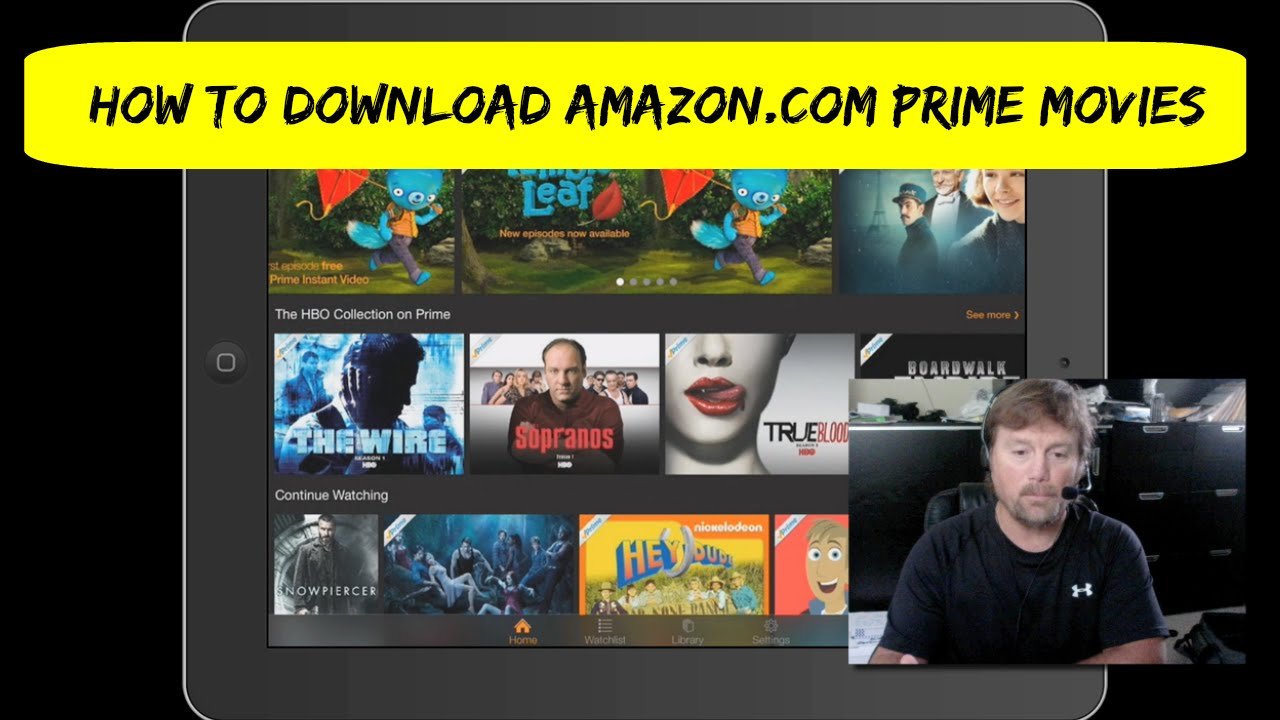 Amazon Prime Filme Downloaden Pc