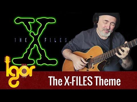 X-Filеs Theme – fingerstye guitar