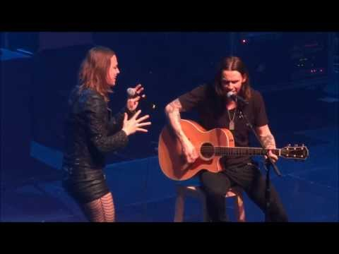 Alter Bridge (with Lzzy Hale) - Watch Over You (Live - AB - Brussels - Belgium - 2013)