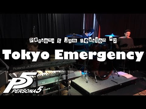 "Persona 5 - ""Tokyo Emergency"" Cover - Jam Session #2 // J-MUSIC Ensemble"