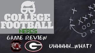 Georgia Bulldogs vs South Carolina - Review & Reaction - College Football 2019 Highlights