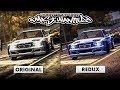 NFS Most Wanted Original VS Redux Graphics Comparison 4K Special mp3