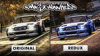 NFS Most Wanted | Original VS Redux Graphics Comparison [4K Special]