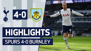 GARETH BALE MASTERCLASS! | HIGHLIGHTS | SPURS 4-0 BURNLEY