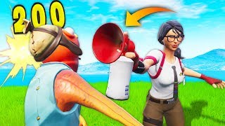 *NEW* AIR HORN EMOTE IS SUPER OP! | Fortnite Best Moments #122 (Fortnite Funny Fails & WTF Moments)