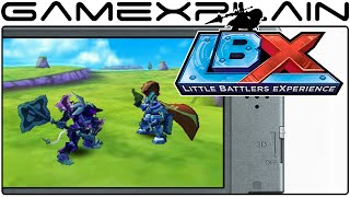 LBX: Little Battlers Experience - Hands-On Gameplay (Direct Feed)