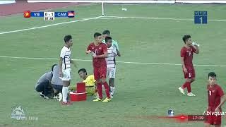 Giá như có ai đó nói với các cầu thủ trên sân rằng BĐVN chưa từng thua Campuchia ở cấp độ Đội Tuyển