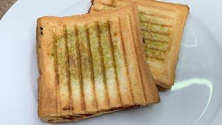 Простой но очень вкусный бутерброд с сыром песто томатами