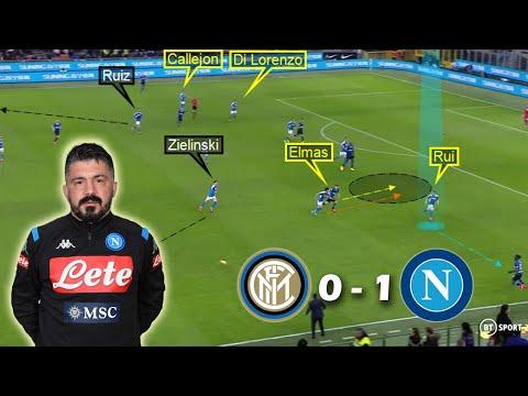 How Gattuso Neutralized Conte's Inter Milan | Inter Milan vs Napoli 0-1 | Tactical Analysis