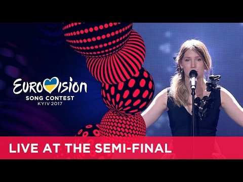 Blanche - City Lights (Belgium) LIVE at the first Semi-Final