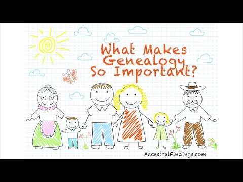 AF-213: What Makes Genealogy So Important?