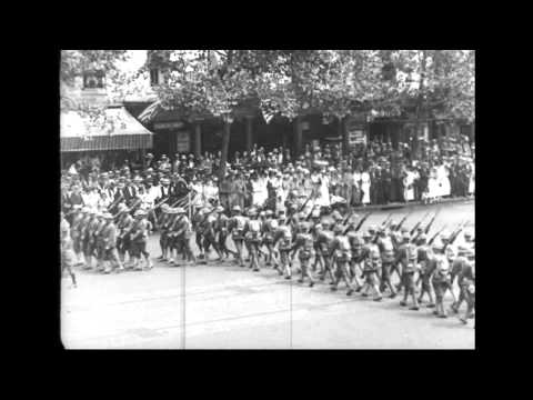 The Parade of the 2nd Division