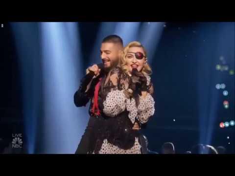 Eugene - Presentación EN VIVO de Maluma y Madonna en los PREMIOS BILLBOARD