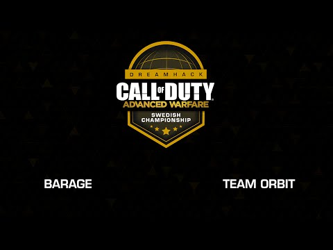 Dreamhack Call of Duty Swedish Championship Grand Final - Barage vs Team Orbit