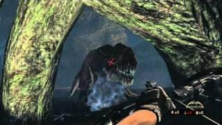 turok t rex fight