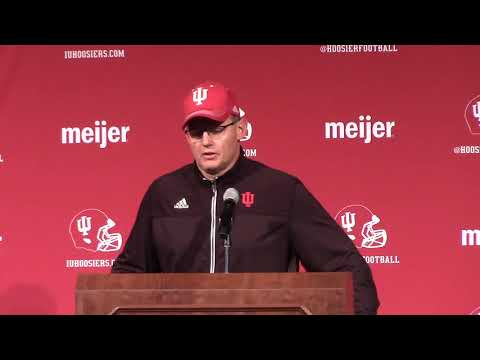 Coach TV: Tom Allen talks Michigan