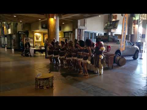 Live African Music At |Kruger Airport|