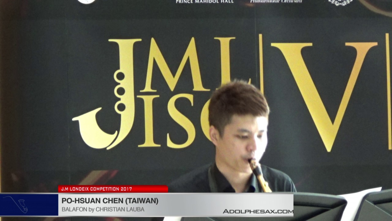 Londeix 2017 - Po-Hsuan Chen (Taiwan)  - Balafon by Christian Lauba