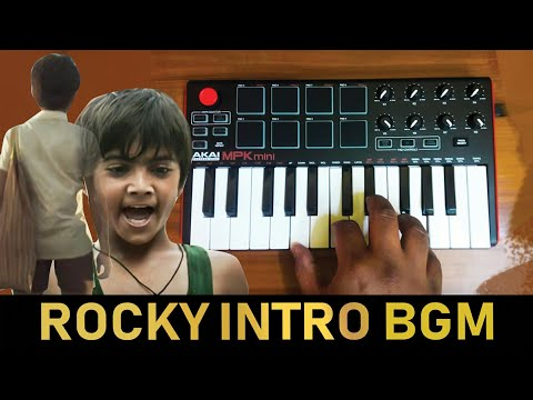 KGF - Rocky Mass Intro Scene Bgm   Cover By Raj Bharath   #Yash #ravibasur