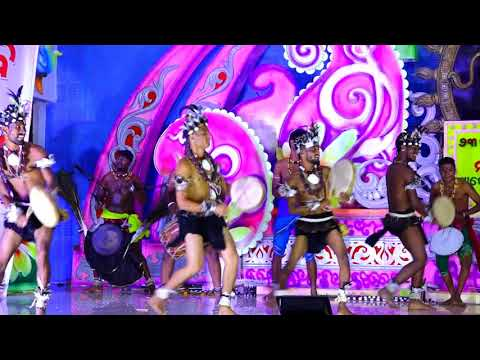 Best tribal folk dance perform by artist of kalahandi on Dist Youth Festival, Kalahandi