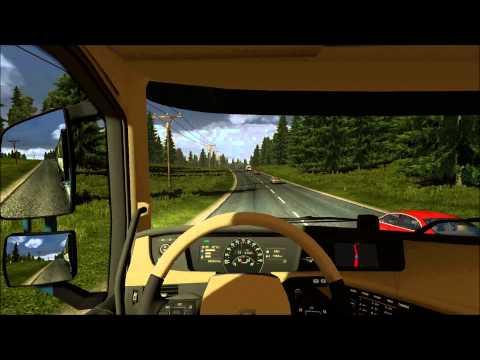 Euro Truck Simulator 2: S:t Petersburg - Petrozavodsk + Russia Map Orient Express