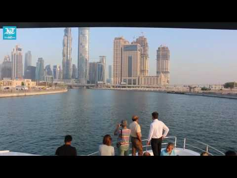 A yacht ride over the new Dubai Water Canal  with Khaleej Times