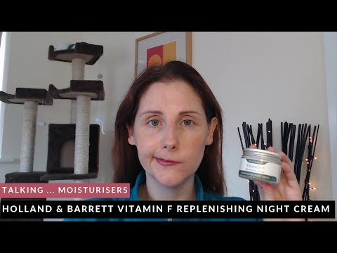 Holland & Barrett Vitamin F Replenishing Night Cream | Review