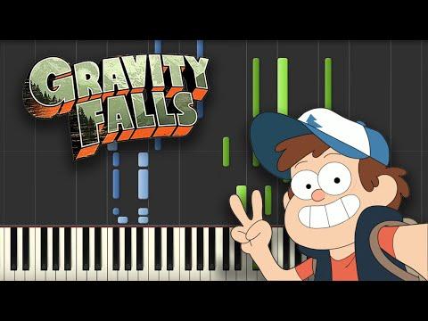 Gravity Falls - Theme Song (Piano Tutorial)