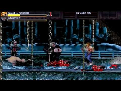 OpenBoR games: Streets of Rage Zombies (Final version) playthrough - ALL ENDINGS (NEW DOWNLOAD LINK)