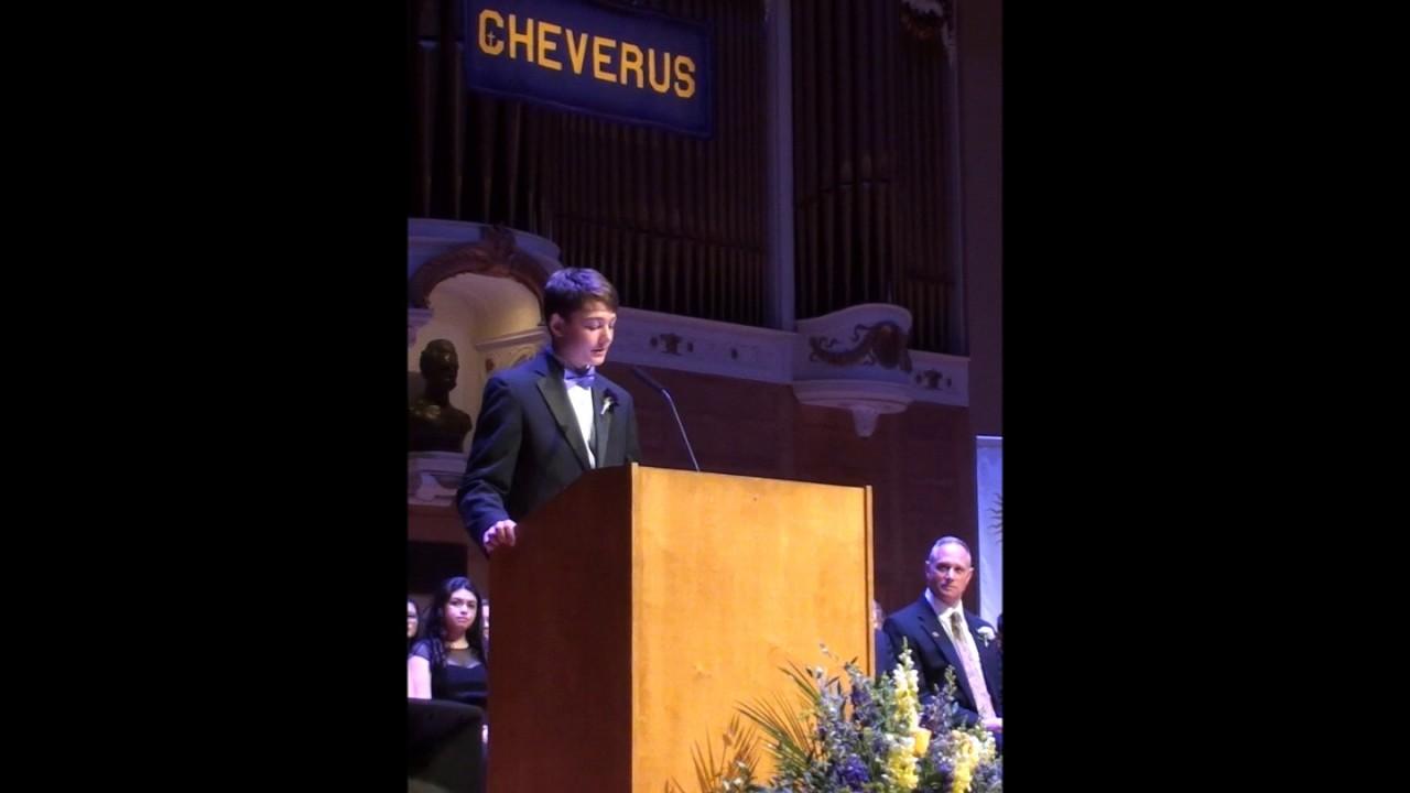 commencement speech for a christian high school