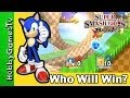 Smash Brother Wii Part 2 HobbyGamesTV Mario Luigi Sonic Pikachu Yoshi