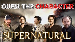 "Guess the Character ""SUPERNATURAL"" Challenge/Trivia/Quiz"
