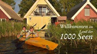 Mecklenburgische Seenplatte - Urlaub im Land der 1000 Seen