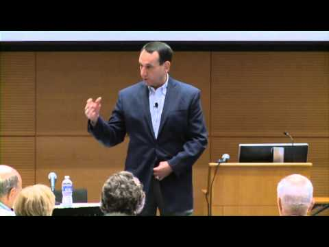 Coach Mike Krzyzewski – Keynote Speaker; Vol 2